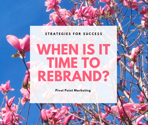 When is it Time to Rebrand?